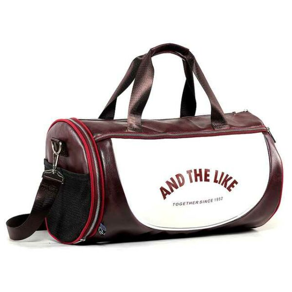 Multifunction sport travel shoulder bag for vintage style men