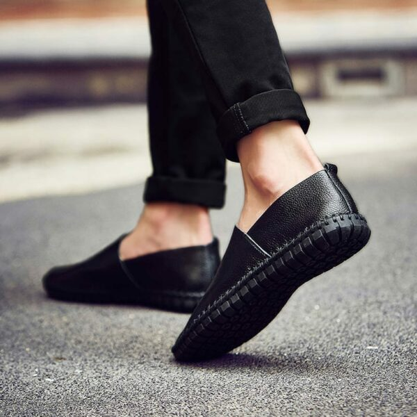 Men's Mid-Season Casual Leather Shoes