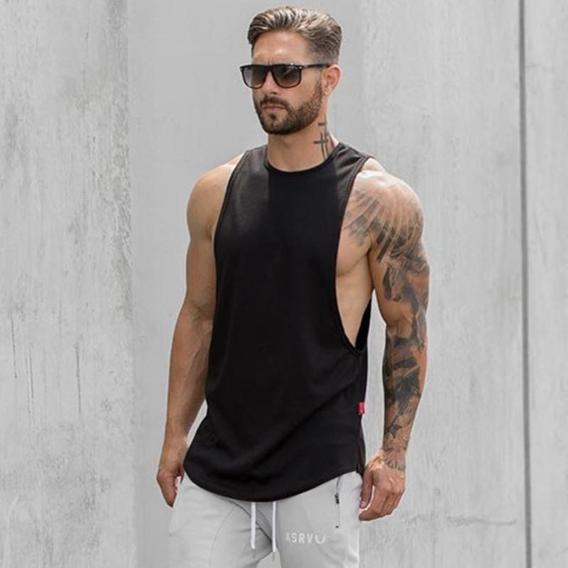 Men's sportswear tank T-shirt