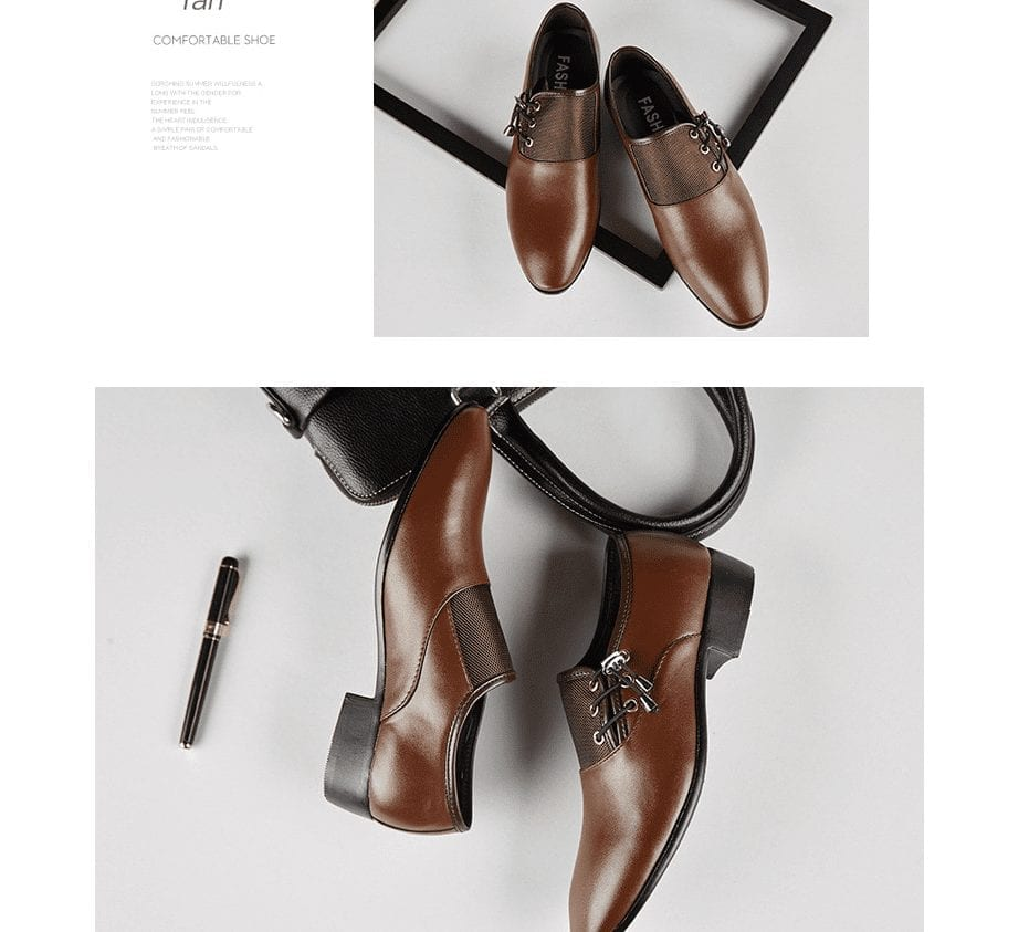 Derbies shoes chic lace-ups side for men