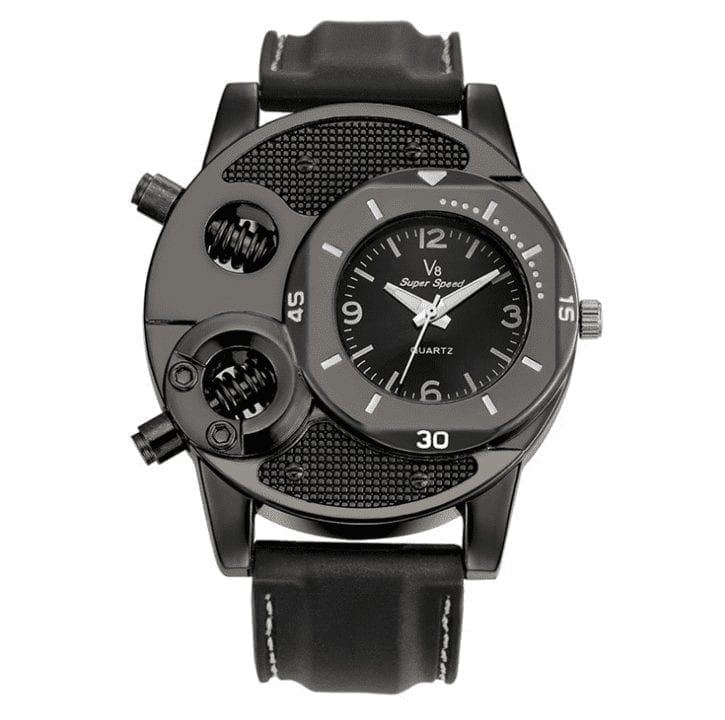 Watch V8 quartz elegant design sports men