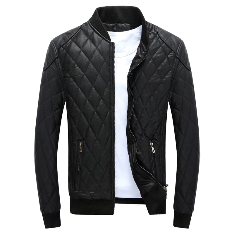 Classic vintage mid-season jacket for men