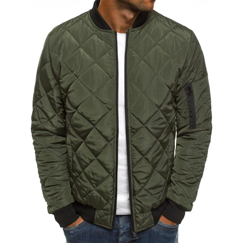 Bomber classic vintage jacket for men