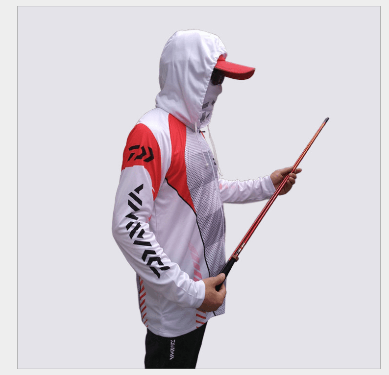 Breathing hooded sweatshirt for men