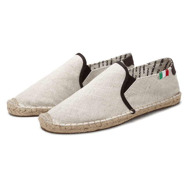 Stylish fabric canvas shoes for men
