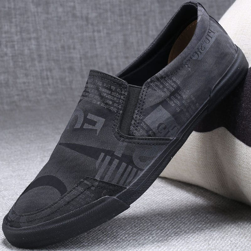 Flat casual casual shoes for men