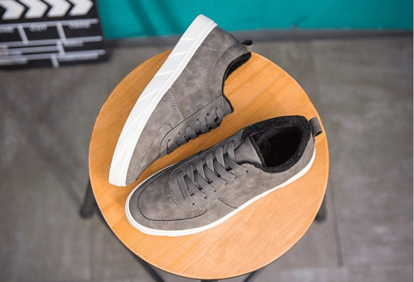 Casual suede shoes for men