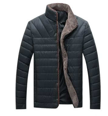 Warm and casual men's jacket