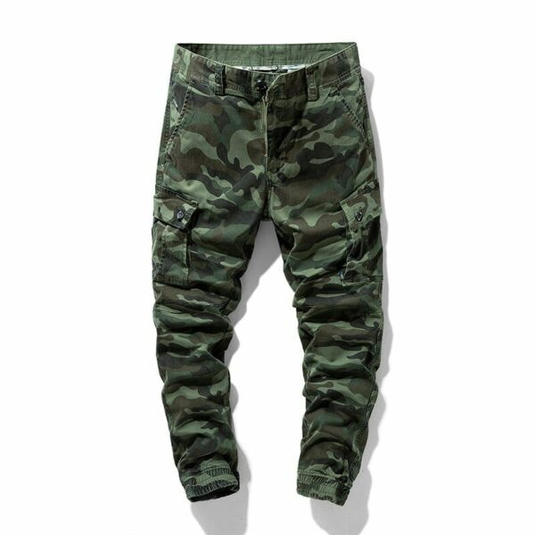 Cargo Style Camouflage Pants for Men