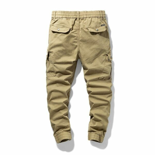 Cargo casual military style trousers for men