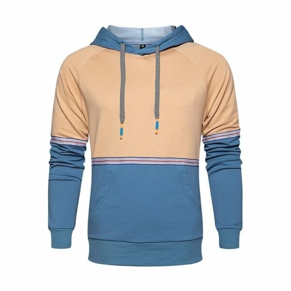 Men's streetwear hooded sweatshirt