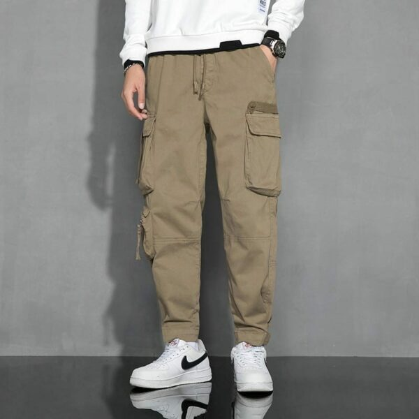 Military-style Cargo pants for men