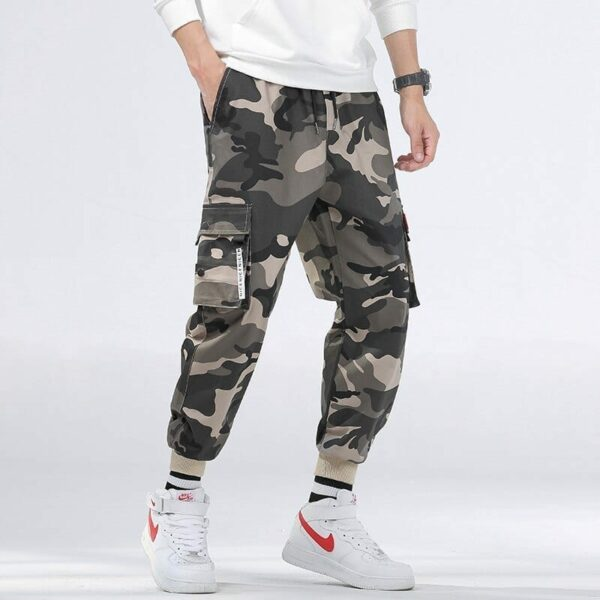 Casual Cargo pants camouflage style for men