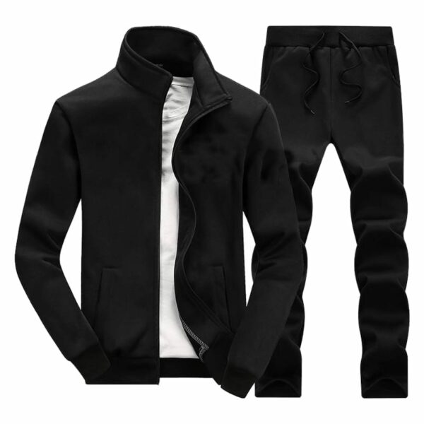 Classic vintage streetwear tracksuit for men