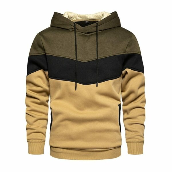 Hoodie original design in V for men