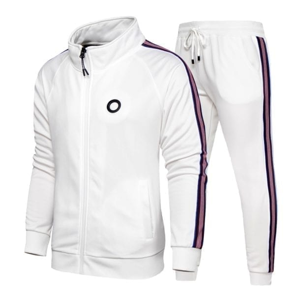 Stylish streetwear tracksuit for men