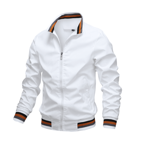 Mid-season windbreaker style jacket for men