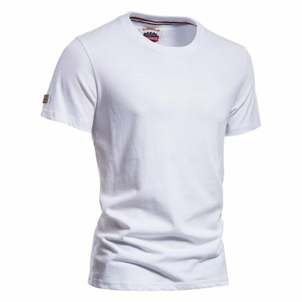 Men's single-neck round-neck T-shirt