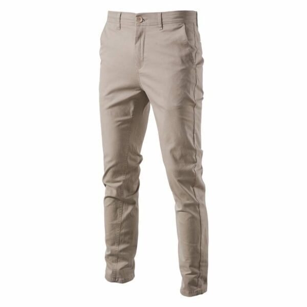 Casual cotton pants for men