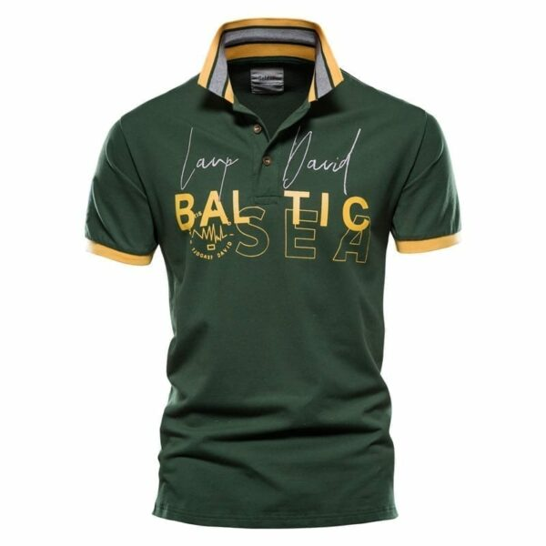Polo letters printed men short sleeves
