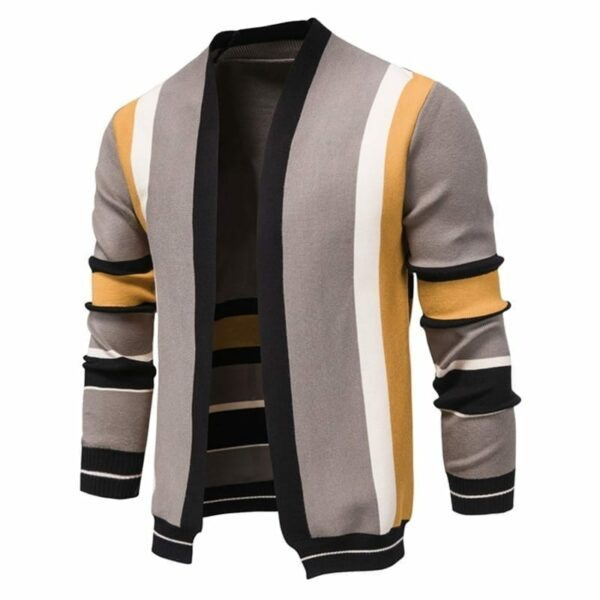 Original multi-colour cardigan for men