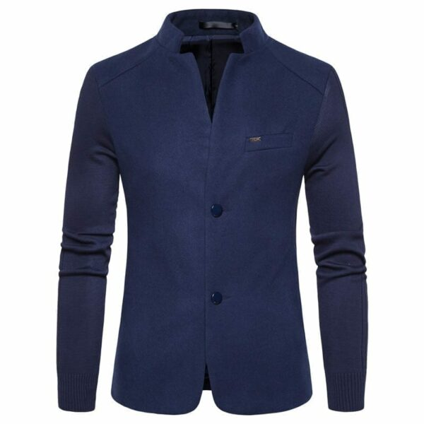 Original men's high collar blazer