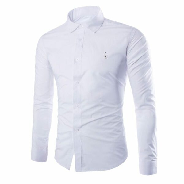 Men's single-necked shirt