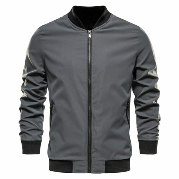 Classic single-cream bomber united for men