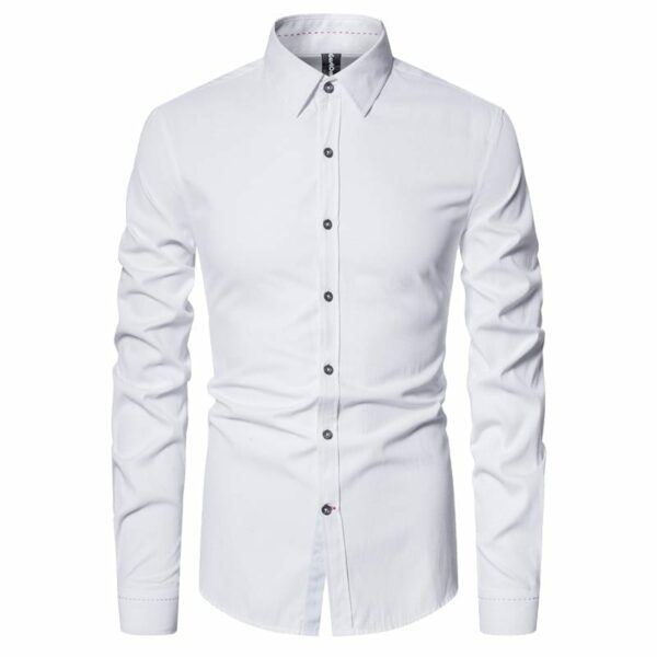 Men's simple cotton shirt