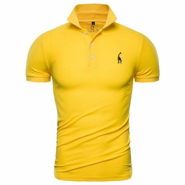 Men's casual short-sleeved polo