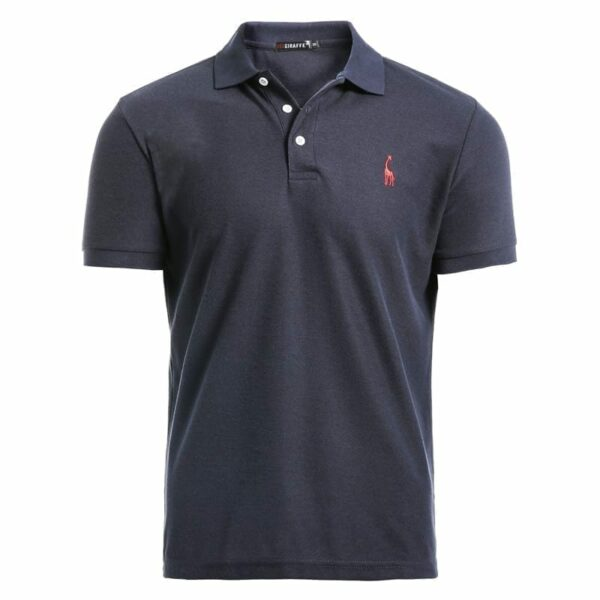 Men's short-sleeved single-sleeved polo