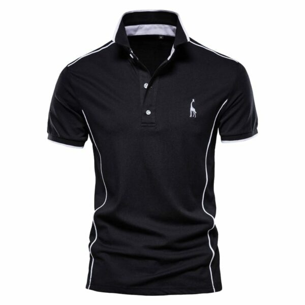 Original men's collar design polo design