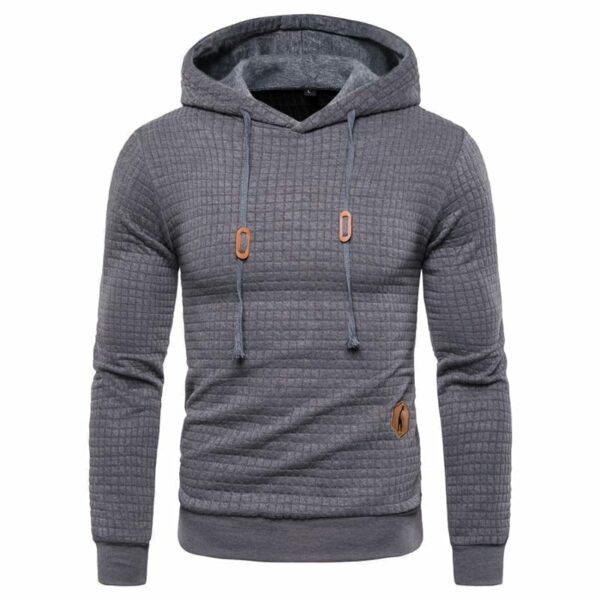 hoodie original knitted tiles for men