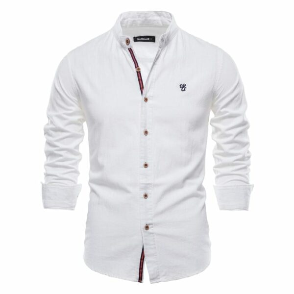 Light linen and cotton shirt for men