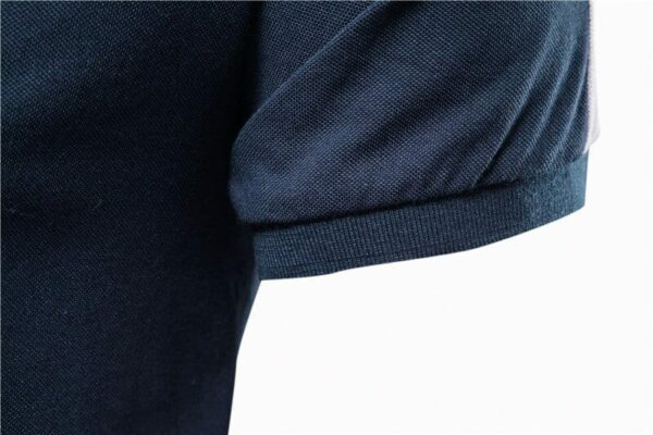 Classic embroidered polo for men
