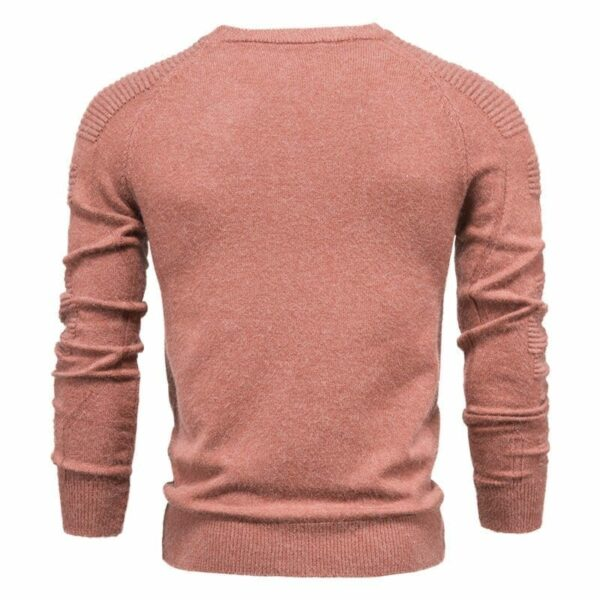 Men's sweater solid color original design